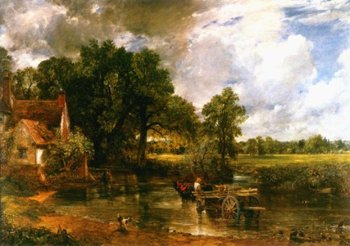 Constable's famous painting of the Haywain